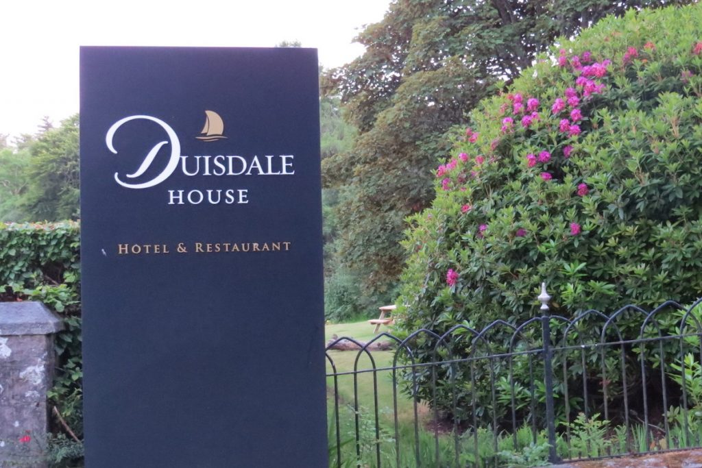 Restaurant at Duisdale House Hotel