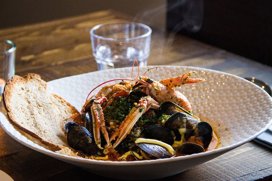 What's on Skye, Dulse and bros Restaurant, The Bosville Hotel, Isle of Skye, Food