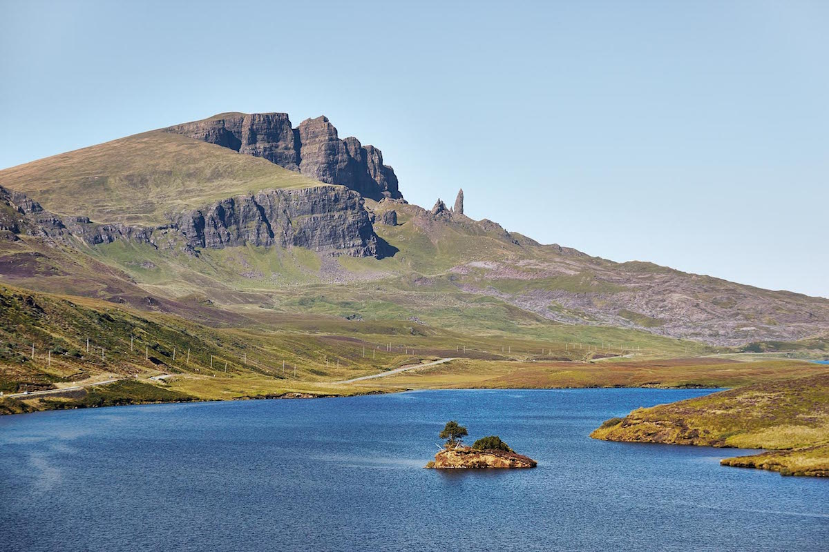What's on Skye, Staffin, The old man of storr