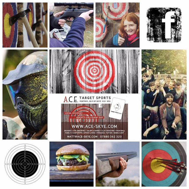 Whats on Skye, Outdoor Activity, Ace Target Sports